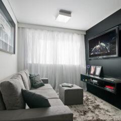 Decoração de apartamentos masculinos