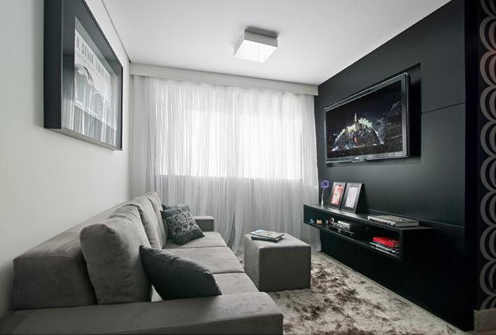 Decoração apartamento masculino