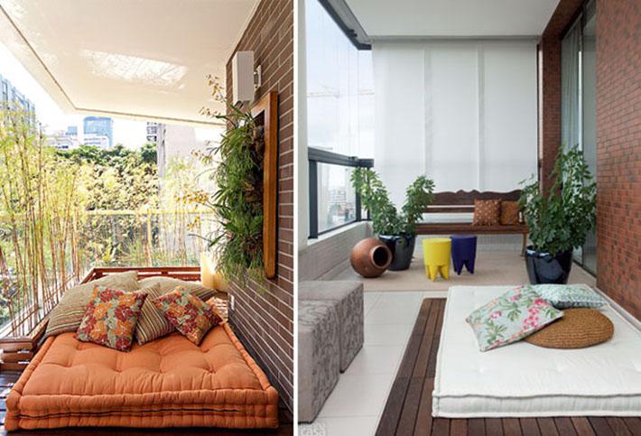 Decoracao Sala Pequena Com Varanda ~  varandas pequenas, sacada pequena, como decorar, varanda, apartamento