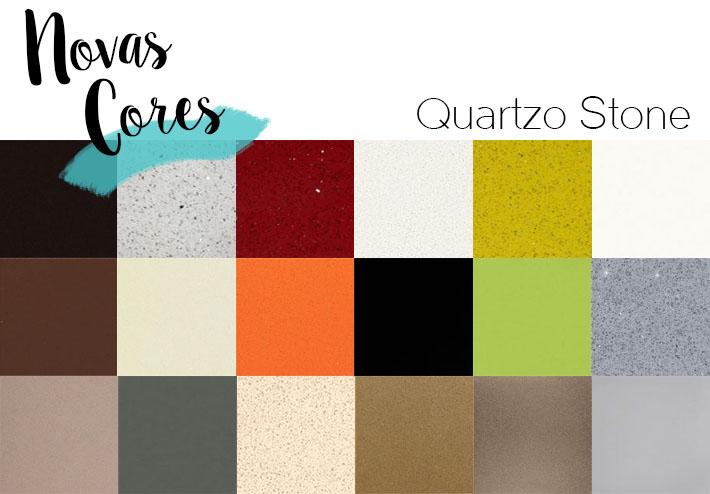 Cores de Quartzo Stone