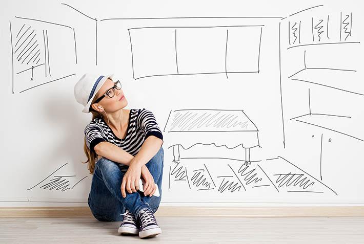 Sonhando com a casa própria