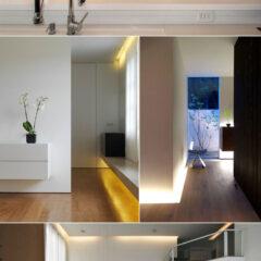 Intensidade de lâmpadas LED