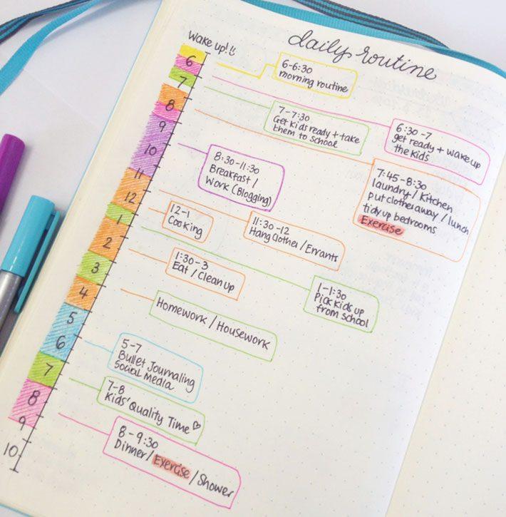 Organização | Agenda Tarefas Diárias