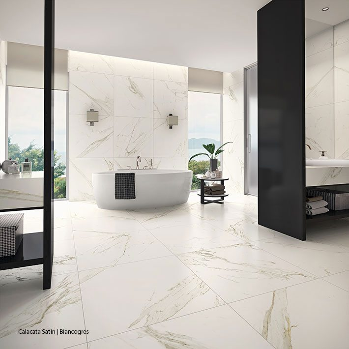 porcelanato calacata mármore