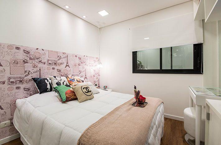 Apartamento decorado feminino