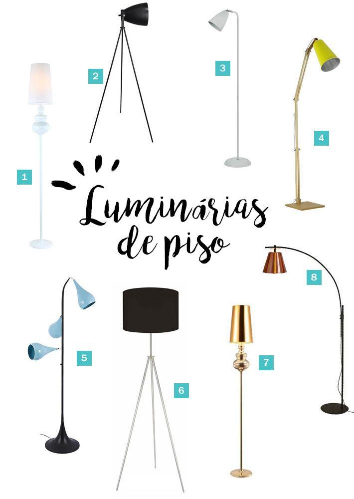 Luminária de piso | Cantinho de Leitura