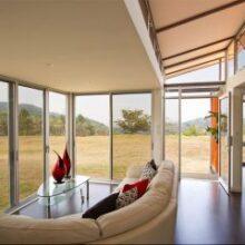 Casas containers: dicas para decorar pequenos espaços