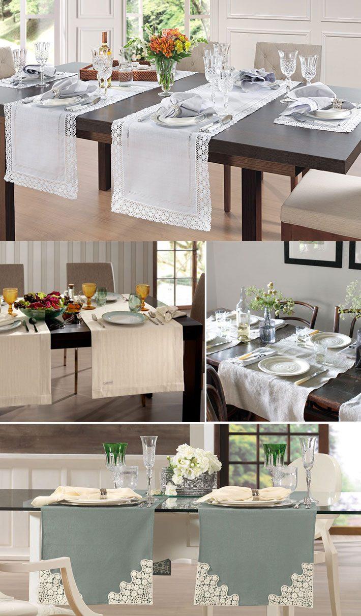 Toalhas de mesa modernas