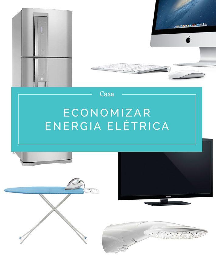 Como economizar energia eletrica