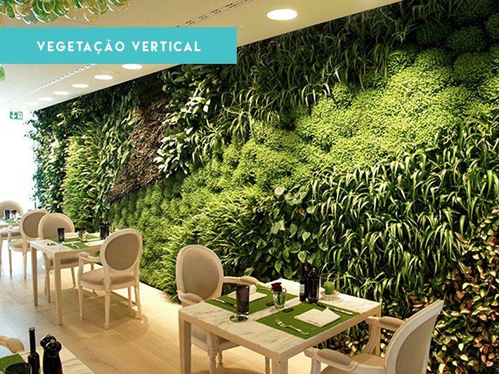 Jardim vertical | Revestimento de parede