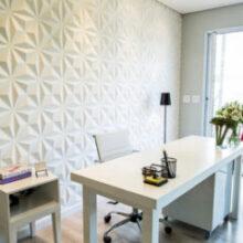 Revestimento 3D em paredes e pisos