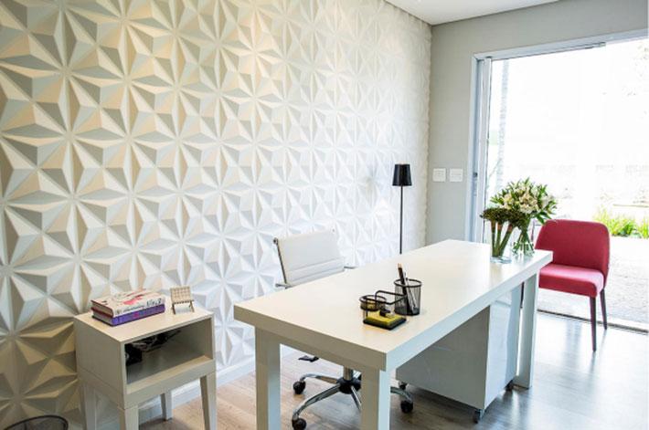 Revestimento 3d em paredes e pisos comprando meu ap for Revestimento 3d sala de estar