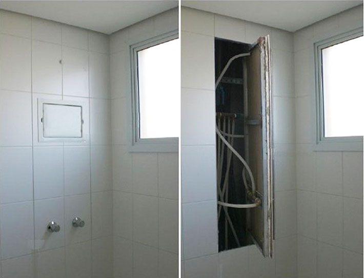 Como esconder SHAFT de banheiro