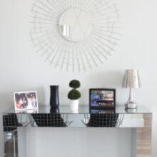 Espelho Sol + Sapateira no Hall | Novidades do Apê