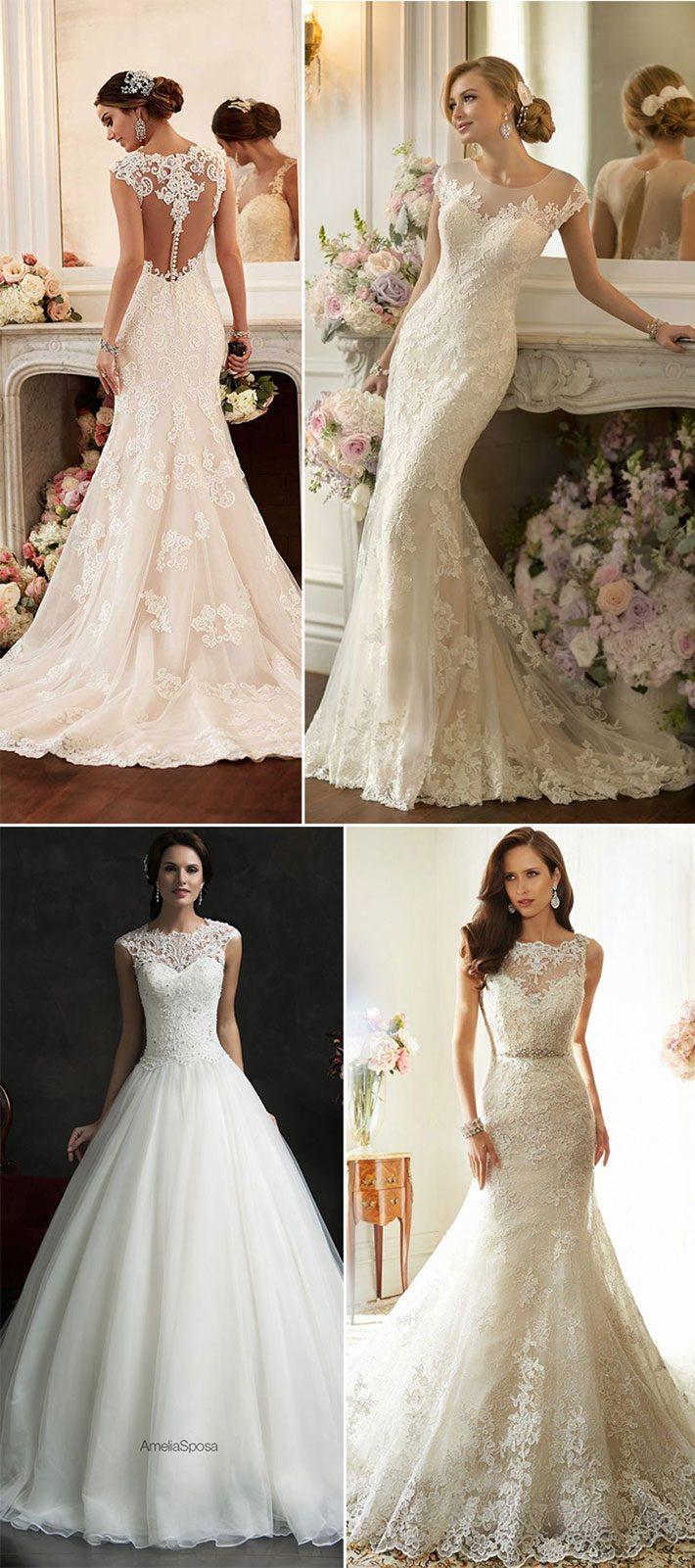 Tendência para vestidos de noiva 2016   2017