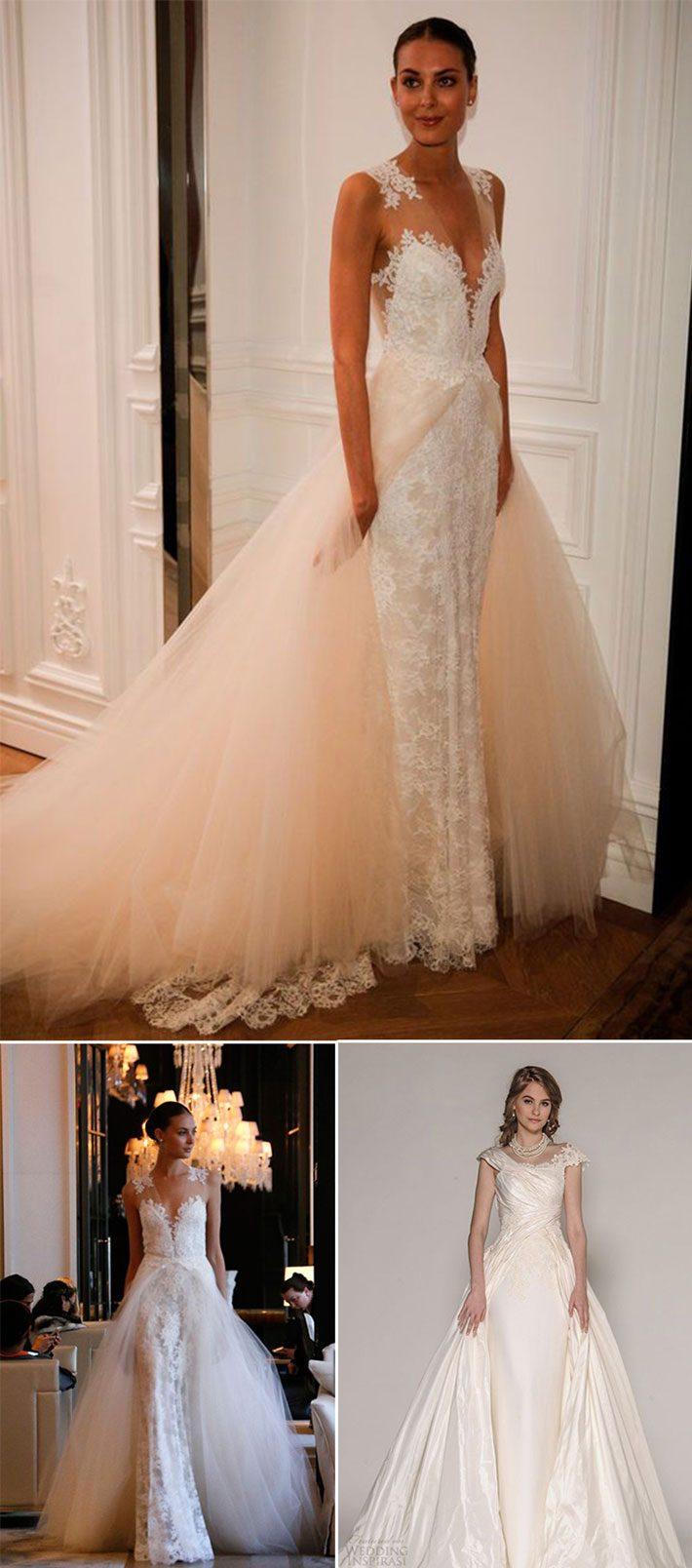 Tendência para vestidos de noiva 2016 | 2017