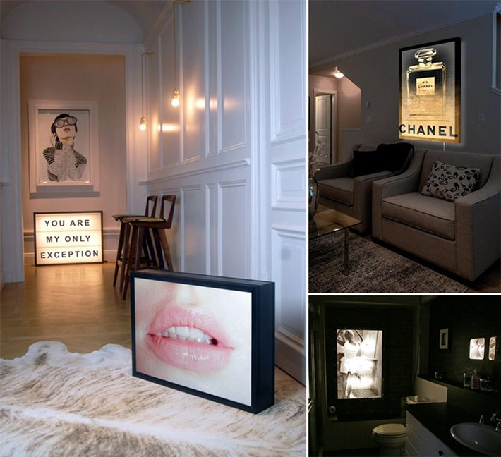 Lightbox | Decor minimalista