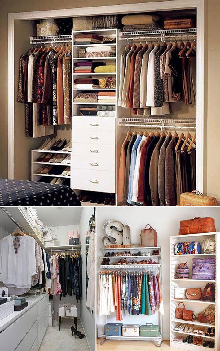 Como montar o closet
