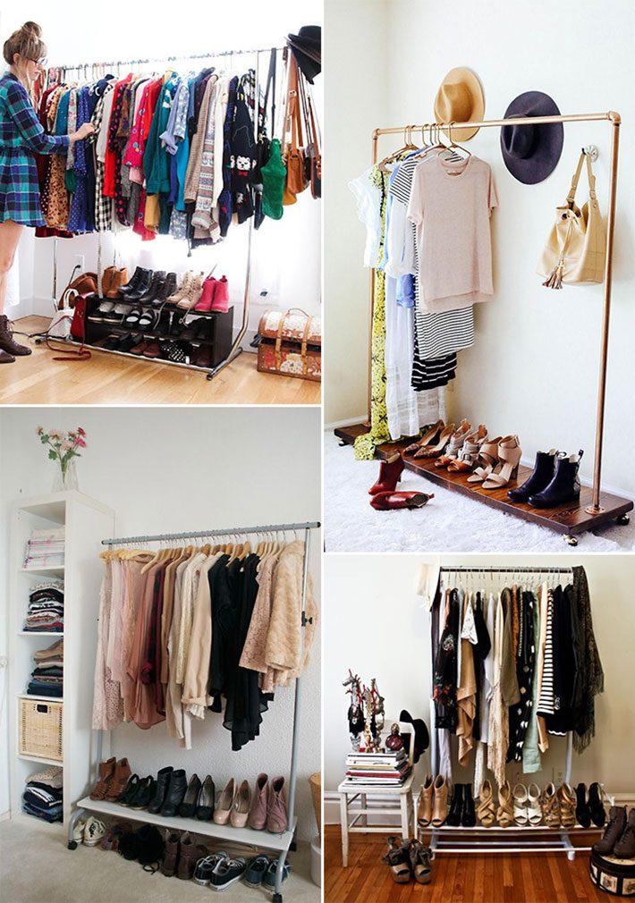 Como planejar o closet