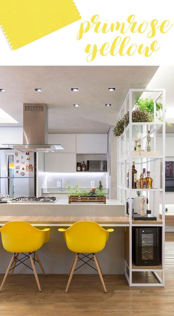 As cores do ano 2017 - Primrose Yellow