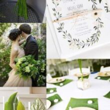 A cor do ano 2017 | Verde Greenery by Pantone