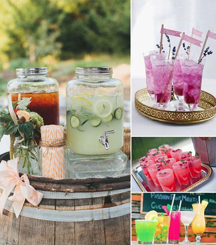 Drinks sem álcool para o verão