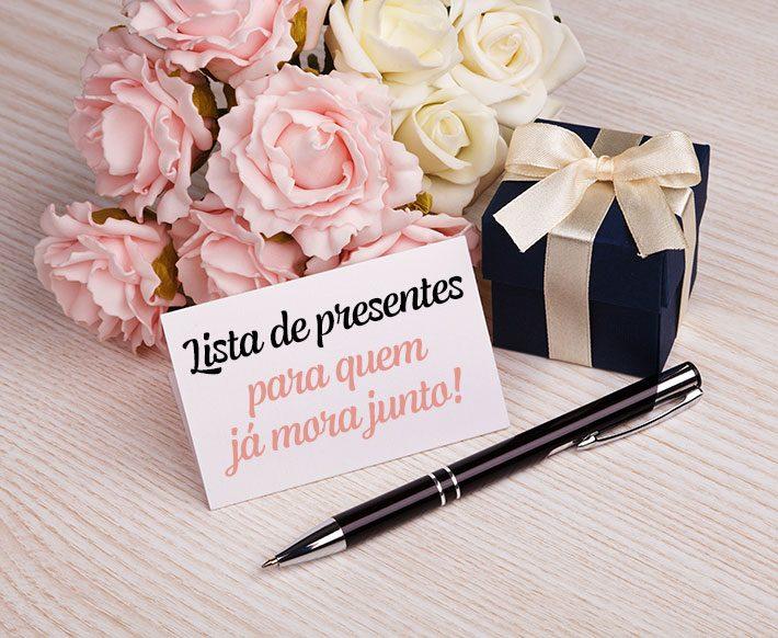 Lista de presentes de casamento | Morando Juntos