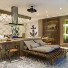 Móveis que fazem o papel de paredes | Divisórias de ambientes
