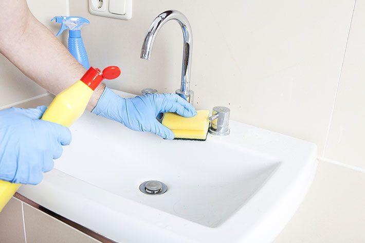 Produtos multiuso de limpeza da casa