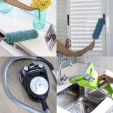 5 itens que facilitam a limpeza da casa