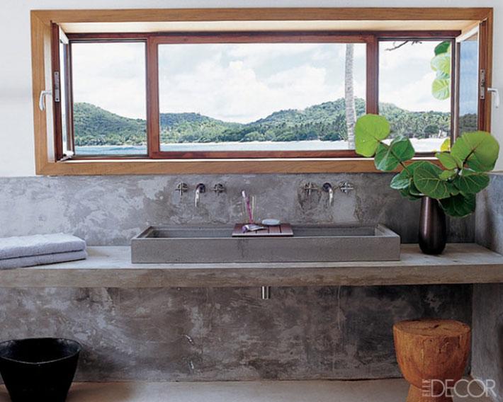 #ApêTendência | Bancadas de concreto para cozinha e banheiros