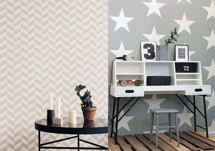 Papel de parede cinza | Como combinar na decoração