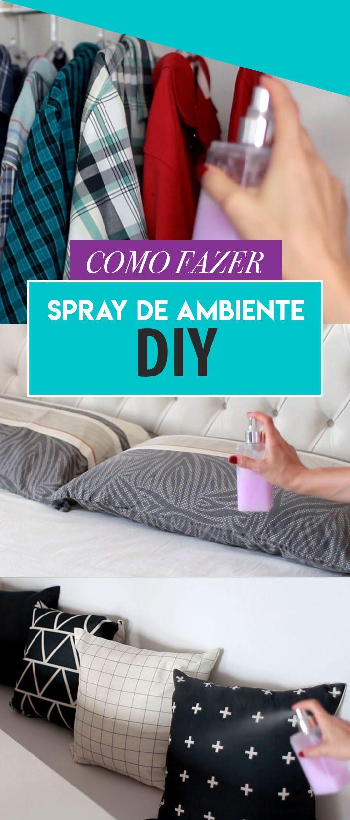Como fazer spray de ambiente | DIY