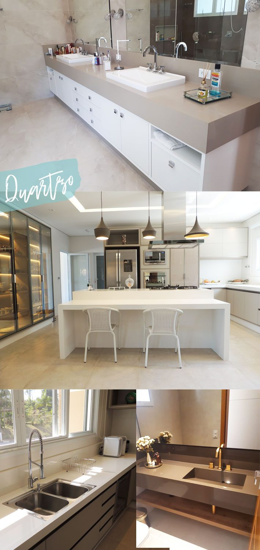 Bancadas de cozinha, banheiros e soleiras precisam ter materiais muito resistentes. Quartzo stone, Dekton, Silestone, Ulstrcompactos e Mármores. Saiba tudo!